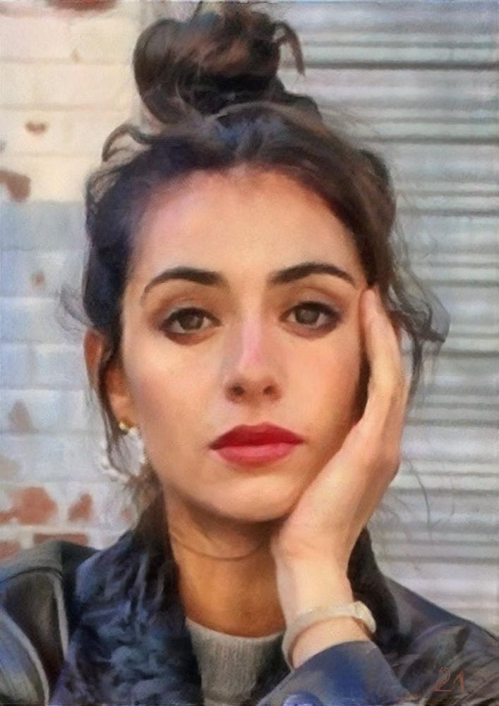 Rebecca Benhamour by baudet
